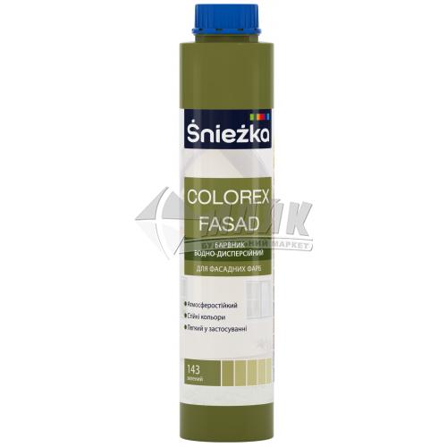 Барвник Sniezka Colorex Fasad 0,75 л 143 зелений