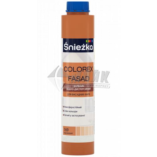 Барвник Sniezka Colorex Fasad 0,75 л 169 персиковий