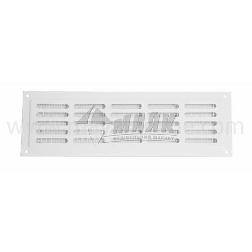 Решітка вентиляційна металева прямокутна VENTS МВМ 250 х 80/5-3с