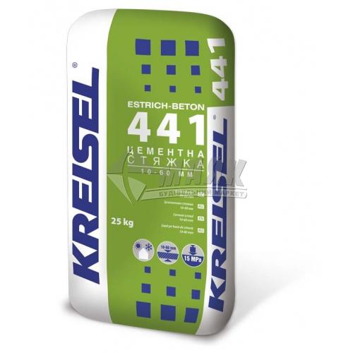 Суміш для стяжки Kreisel 440 Цементна шар 10-60 мм 25 кг