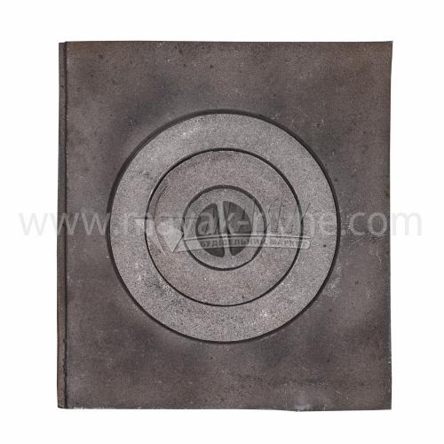 Плита одноконфорна мала Булат 370×410 мм 9,1 кг