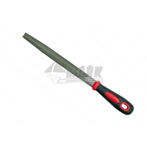 Напилок напівкруглий VOREL 200 мм з ручкою