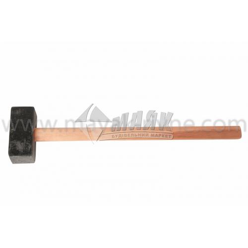 Кувалда 8 кг квадратний бойок дерев'яна ручка