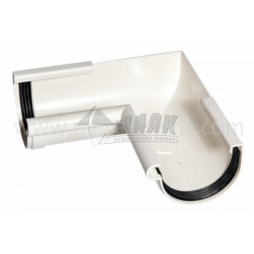 Кут внутрішній пластиковий Profil W 90° 90/75 білий