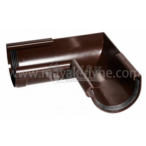 Кут внутрішній пластиковий Profil W 90° 90/75 коричневий