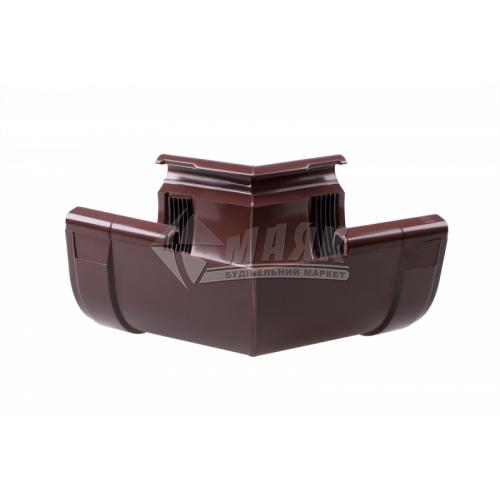 Кут внутрішній пластиковий Profil W 135° 90/75 коричневий