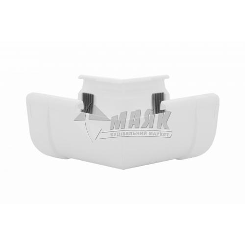 Кут внутрішній пластиковий W Profil 135° 130/100 білий