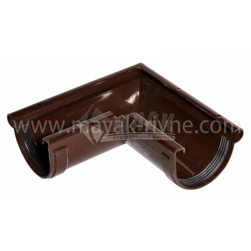 Кут зовнішній пластиковий Z Profil 90° 130/100 коричневий