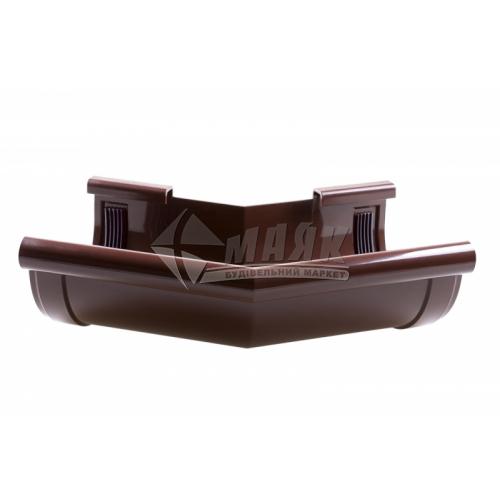 Кут зовнішній пластиковий Z Profil 135° 130/100 коричневий