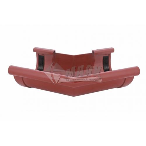 Кут зовнішній пластиковий Z Profil 135° 130/100 цегляний
