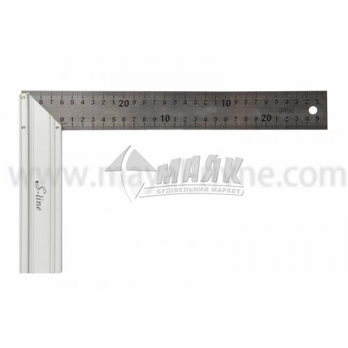 Кутник столярний S-Line 250 мм алюмінієва ручка