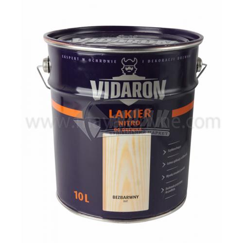 Лак для деревини Vidaron Nitro для внутрішніх робіт 10 л безбарвний матовий