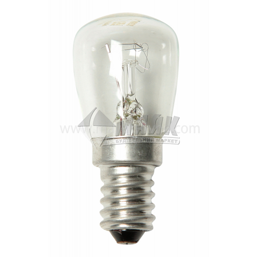 Лампа для холодильника Іскра 15Вт Е14 220В (уп. гофра)