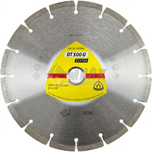 Диск алмазний відрізний Klingspor DT 300 U Extra 125×1,6×7×22,23 мм сегментований