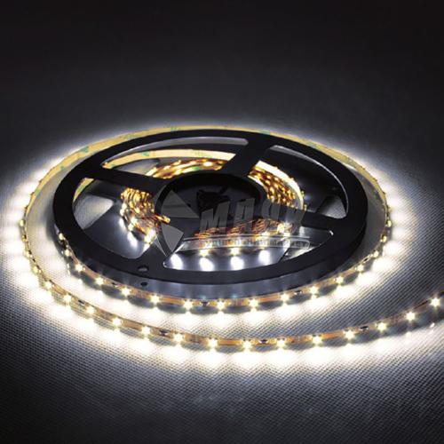 Стрічка світлодіодна Feron LS606 SANAN LED-RL 60SMD 14,4 Вт/пог.м 12В IP20 5 пог.м біла тепла