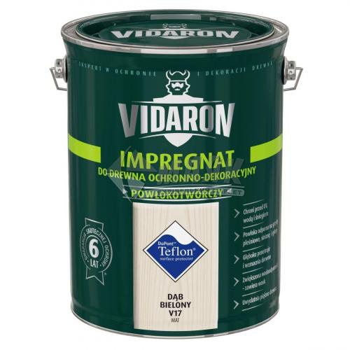 Захист для деревини Vidaron Impregnat 4в1 V17 9 л вибілений дуб