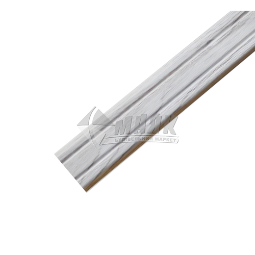 Планка поріжна ламінована КСК Профіль П-2 кутова 23×9×1800 мм дуб глазго