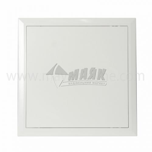 Дверцята ревізійні квадратні ДОМОВЕНТ Л 300×300 мм