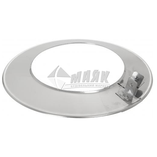 Окапник димоходу ВЕНТ УСТРІЙ 0,5×110 мм нержавіюча сталь 201