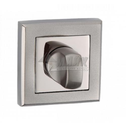 Фіксатор квадратний MVM WC T7 BN/SBN нікель чорний/нікель чорний матовий