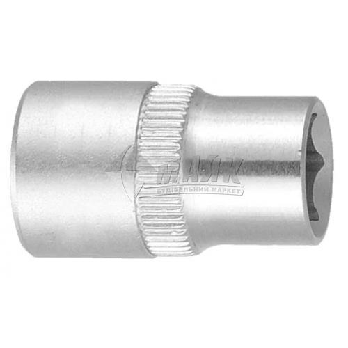 """Головка торцева шестигранна Ultra 1/4"""" 9 мм Cr-V"""