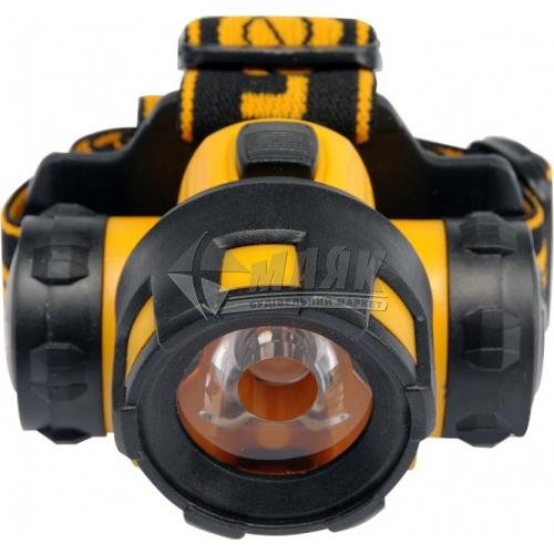 Ліхтар налобний на батарейках VOREL 88673 1 LED