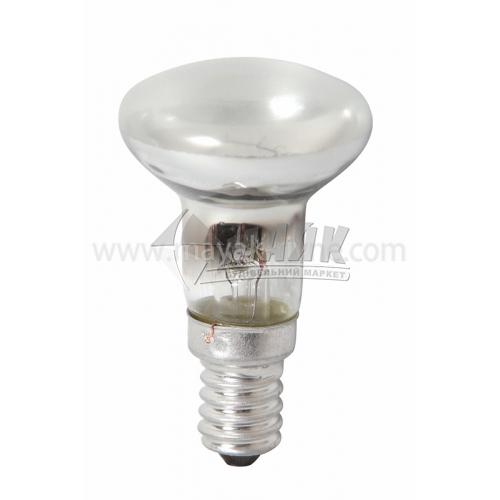 Лампа розжарювання рефлекторна Іскра 30Вт Е14 R39 230В прозора