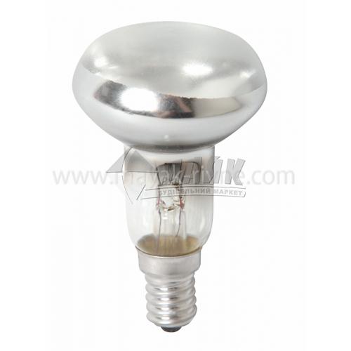 Лампа розжарювання рефлекторна Іскра 60Вт Е14 R50G 230В прозора
