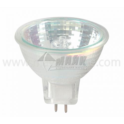 Лампа галогенна рефлекторна Іскра 20Вт GU5.3/G5.3 MR16 230В