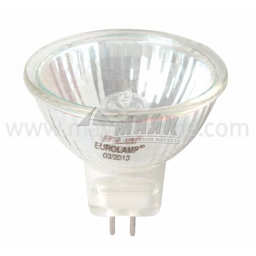 Лампа галогенна рефлекторна Іскра 35Вт GU5.3/G5.3 MR16 230В