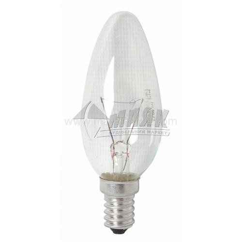 Лампа розжарювання свічка Іскра 25Вт Е14 B35 230В прозора (уп. коробка)