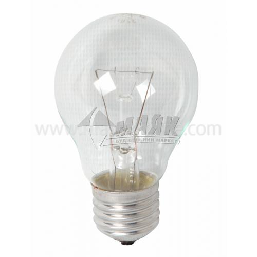 Лампа розжарювання класична (груша) Іскра 25Вт Е27 A50 230В прозора (уп. гофра)