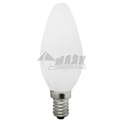 Лампа розжарювання свічка Іскра 40Вт Е14 B35 230В матова (уп. коробка)