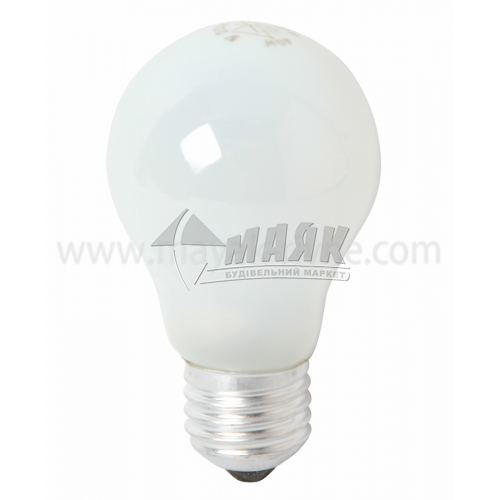 Лампа розжарювання класична (груша) Іскра 40Вт Е27 A50 230В матова (уп. коробка)