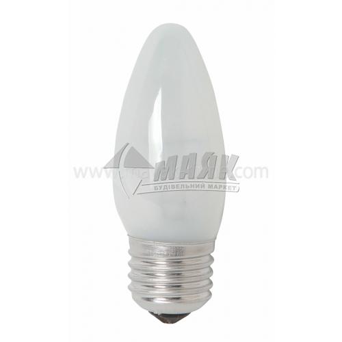Лампа розжарювання свічка Іскра 40Вт Е27 B35 230В матова (уп. коробка)