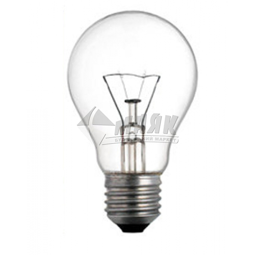 Лампа розжарювання класична (груша) Іскра 100Вт Е27 A55 230В матова (уп. коробка)