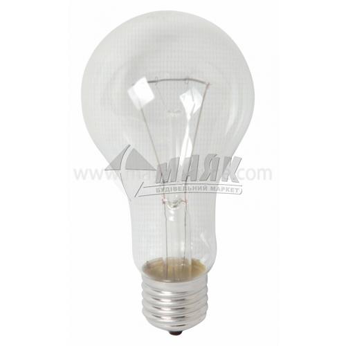 Лампа розжарювання куля Іскра 200Вт Е27 PS65 230В прозора (уп. гофра)