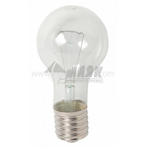 Лампа розжарювання класична (груша) Іскра 300Вт Е40 B67 230В прозора (уп. гофра)