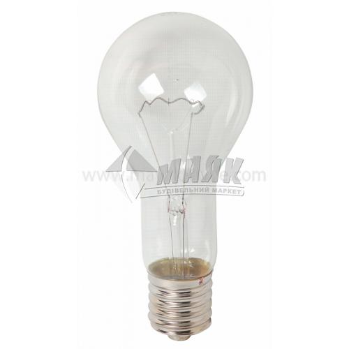 Лампа розжарювання класична (груша) Іскра 500Вт Е40 A90 230В прозора (уп. гофра)
