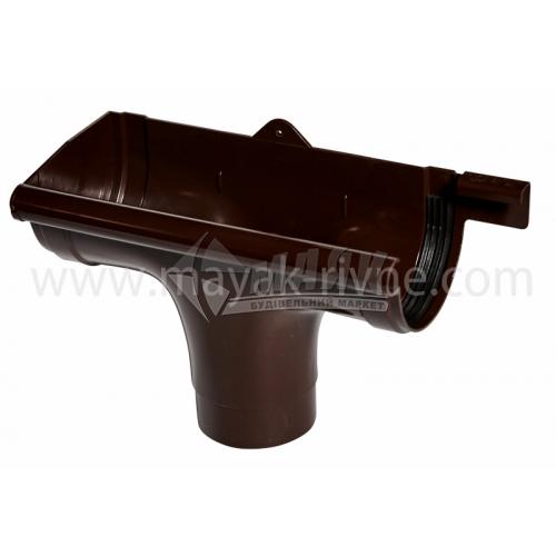 Лійка (воронка) пластикова ліва L Profil 130/100 коричнева