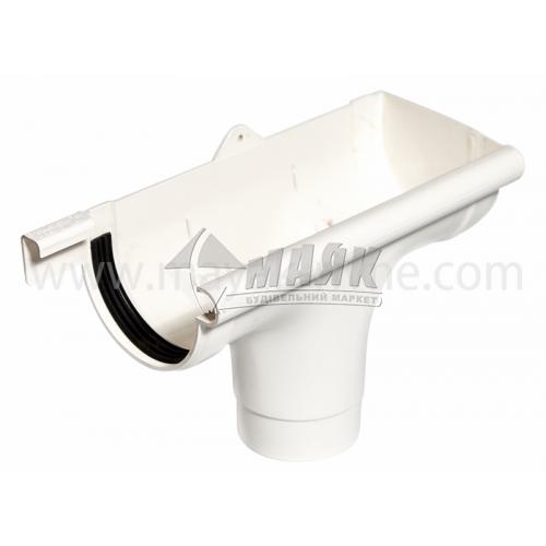 Лійка (воронка) пластикова права Profil P 90/75 біла