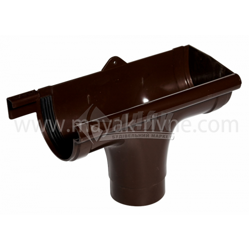 Лійка (воронка) пластикова права P Profil 130/100 коричнева