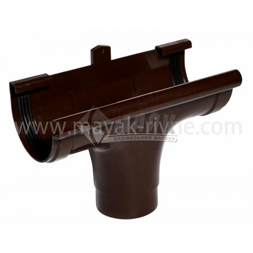 Лійка (воронка) пластикова прохідна Profil 90/75 коричнева
