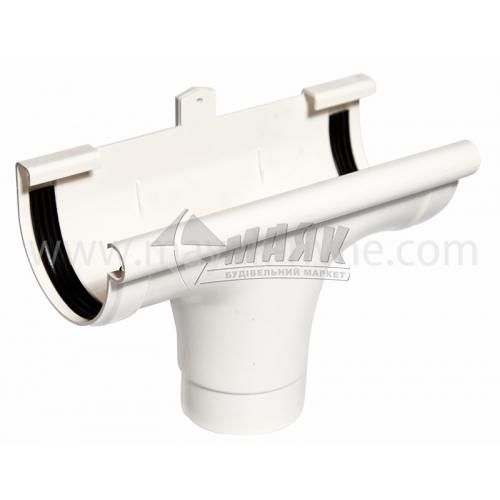Лійка (воронка) пластикова прохідна Profil 130/100 біла