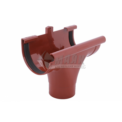 Лійка (воронка) пластикова прохідна Profil 130/100 цегляна