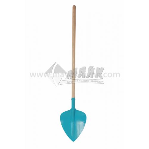 Лопата совкова породна для щебеню JUCO дерев'яний держак