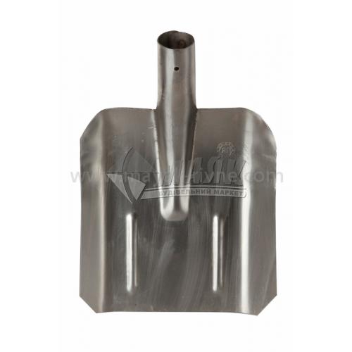 Лопата совкова 270×240 мм нержавіюча сталь без ручки