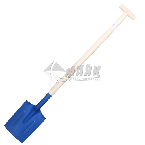 Лопата штикова пряма садово-огородня JUCO 180×280 мм дерев'яний держак