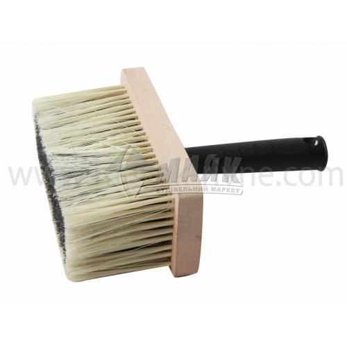 Макловиця малярна №1 70×170 мм штучний ворс дерев'яна основа пластикова ручка