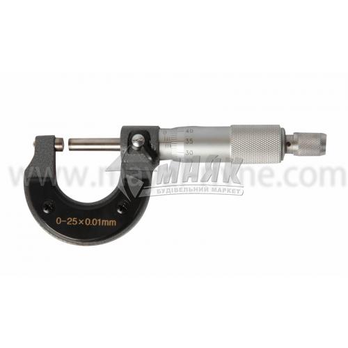 Мікрометр 25 мм точність 0,01 мм